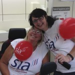 Esther, a fundraiser for SIA
