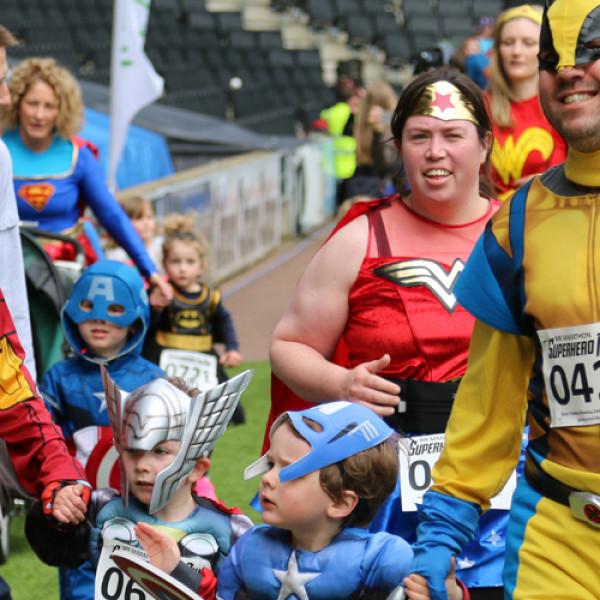 Superhero Triathlon