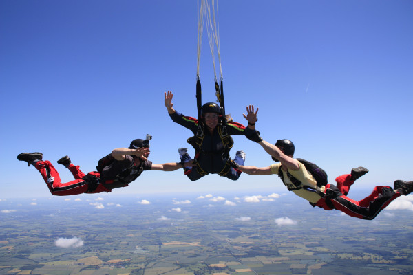 SIA's first ever Skydive Day!