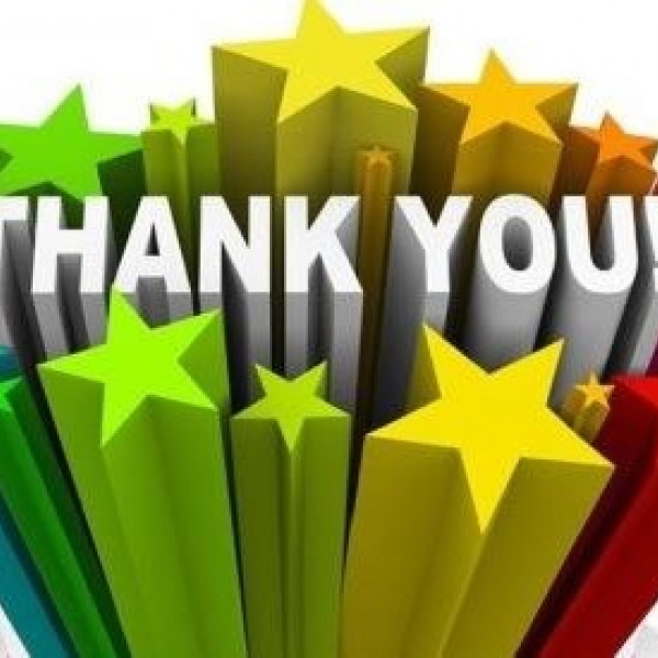 A big thank-you from RCOT!