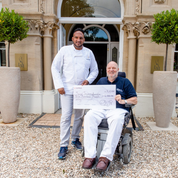 Chef Michael Caines adopts SIA during the month of July