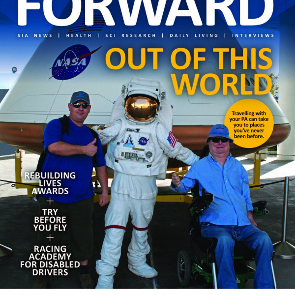 The August issue of FORWARD is out now