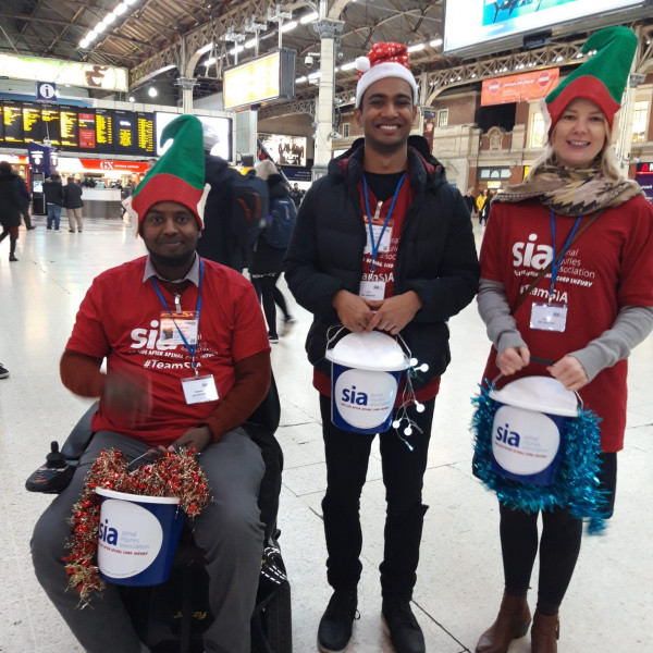 Fundraise for SIA this Christmas –  Christmas Bucket Collections 2019!