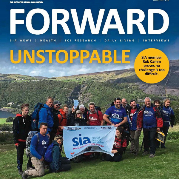 The October issue of FORWARD is out now