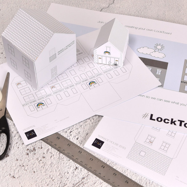 Build your own Lockdown Town and support SIA