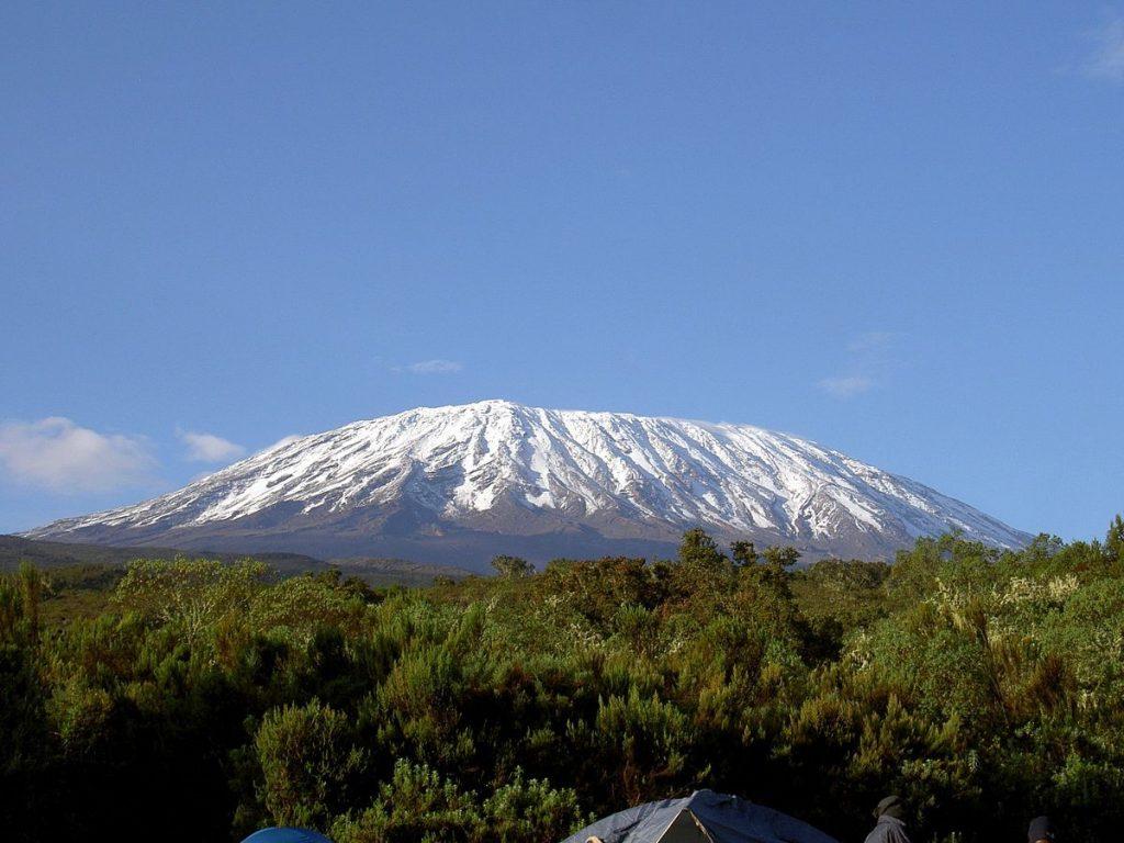 Landscape image of Mount Kilimanjaro