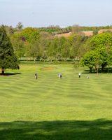 A golf course vista
